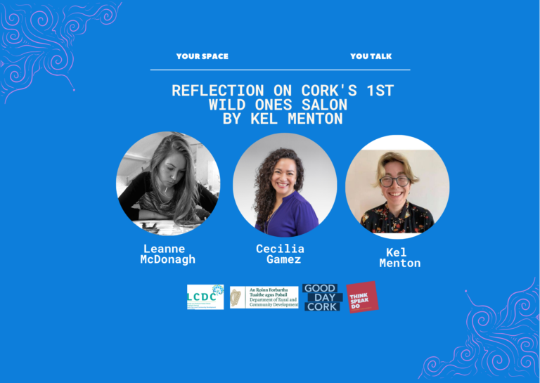 Kel Menton Reflection Wild Ones Salon with Cecila Gamez and Leanne McDonagh