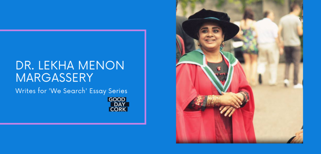 Dr Lekha Menon Margassery_Science_Microbiology_GoodDayCork_WeSearch