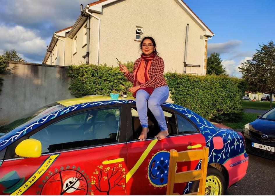 Sobia Saad Truck Art Ireland Culture Good Day Cork